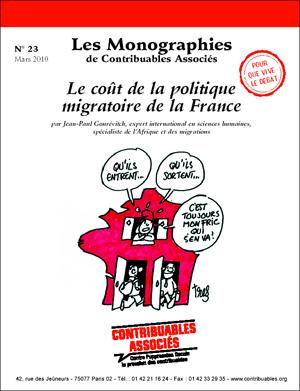 Le coût de la politique migratoire